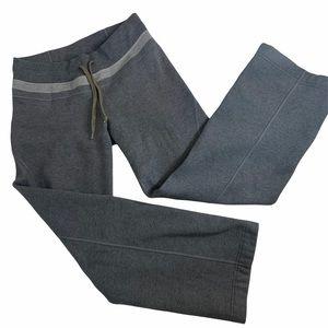 Lululemon Thick Grey Sweatpants Wide Leg 6